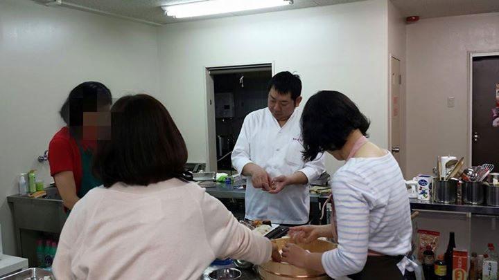Cahoo! 料理教室 大阪 梅田 肥後橋 中の島 すし 寿司 鮨